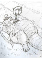 Waterdragon by HeroGSkunk