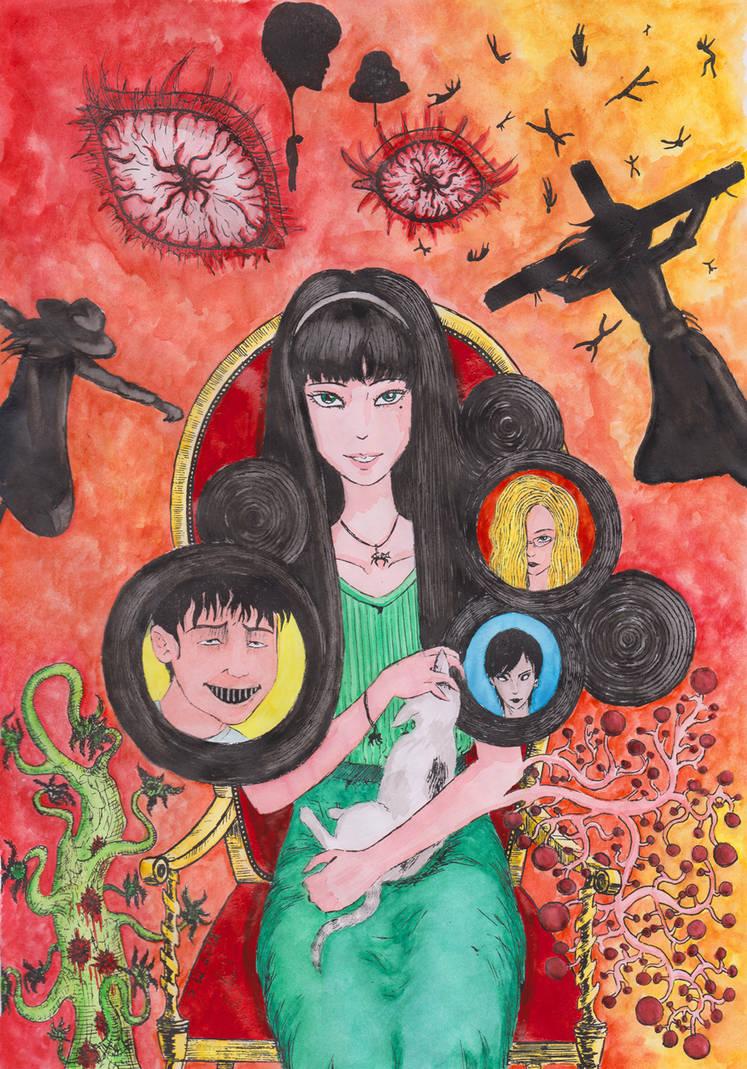 Itou Junji Fan Art (13 stories) by Kotovaska