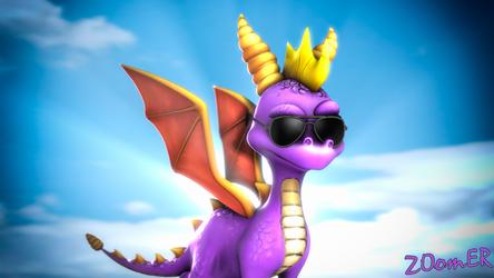 [SFM] Cool Spyro by ZOomERart