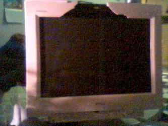 Hole of a Monitor by insaneamoeba