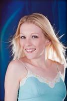 Blonde in blue by wstoneburner