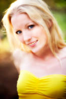Blonde in bright yellow by wstoneburner