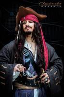 Captain Jack Sparrow by wstoneburner