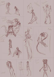 Sketches 16.9.2018 by bubblinggin