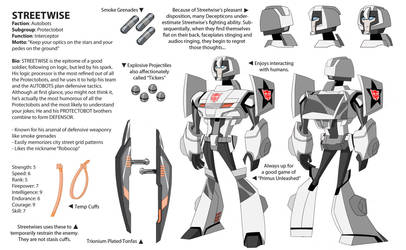 TFA Protectobots: Streetwise by dou-hong