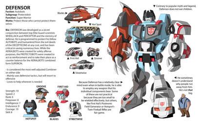 TFA Protectobots: DEFENSOR by dou-hong
