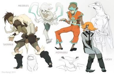 Thundercats: Incidentals Sheet Three by dou-hong