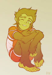 Young Justice: Beast Boy by dou-hong