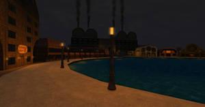 Four Rivers Promenade - Night by ZauberParacelsus