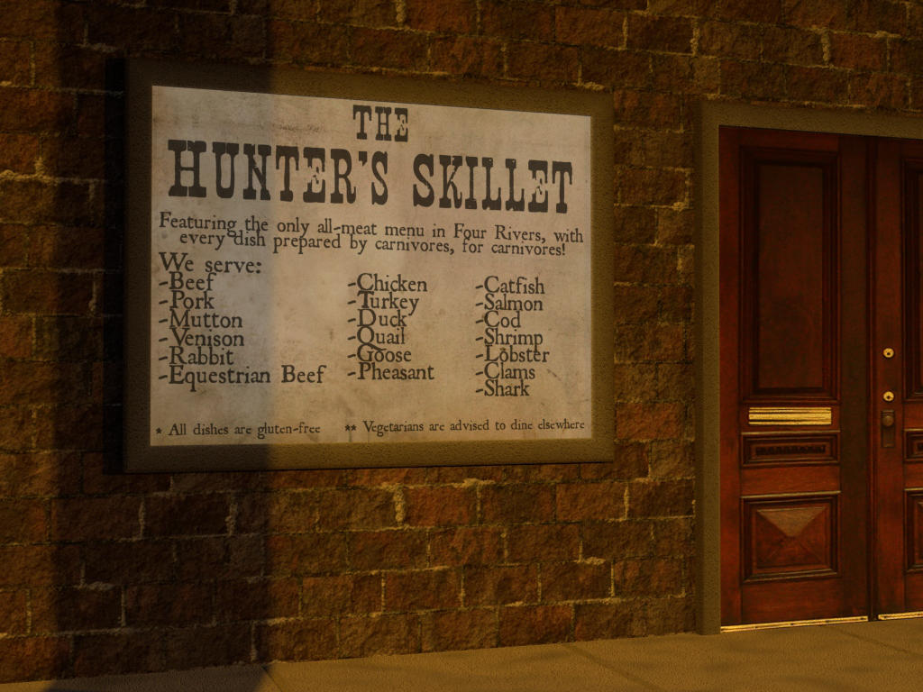 The Hunter's Skillet by ZauberParacelsus