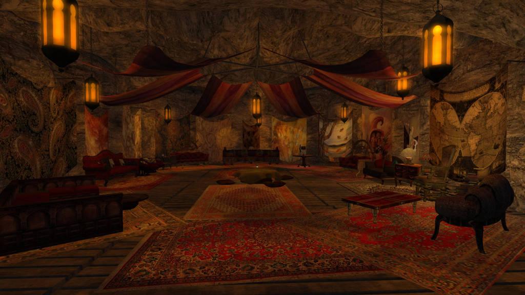 The Dragon's Den by ZauberParacelsus