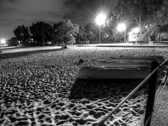 Black and White Night 1 by lightzone
