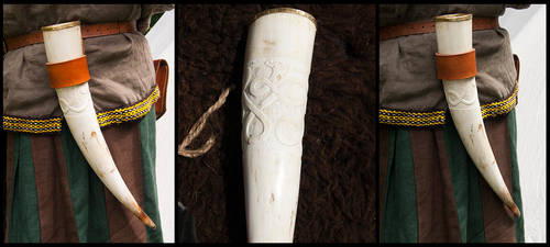 Drinking horn by simoniculus