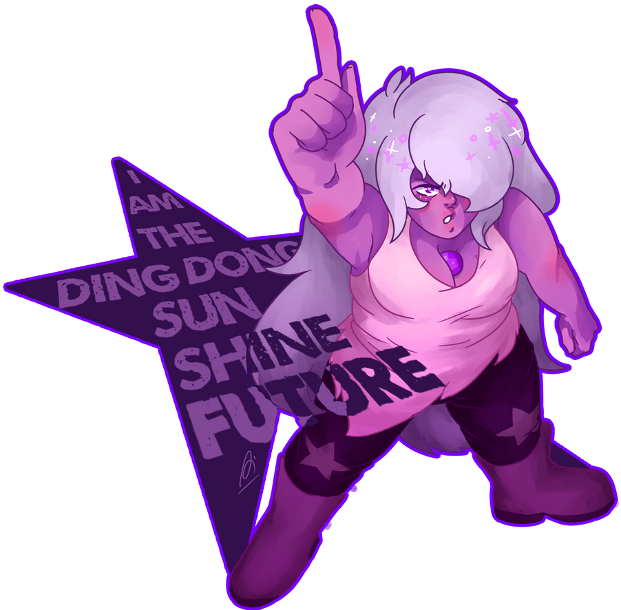 i was a fool.... amethyst is best girl