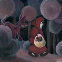 porte - Little Red Riding Hood by szucsi