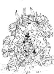 Morkanaut by MyDeads