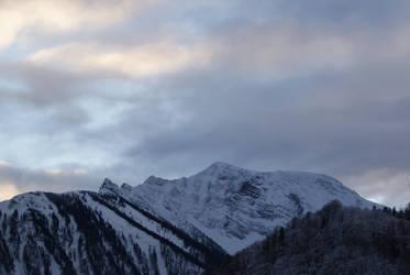 Mountain Oetscher by dark-silva