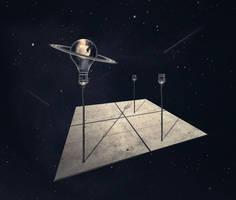 Space platform... by StelfySkya