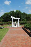 Wilson Rose Garden Sculpture 3 by CliftonFomby