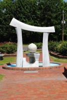 Wilson Rose Garden Sculpture 4 by CliftonFomby