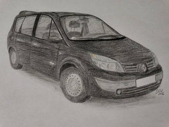 Renault Scenic II by Darling55
