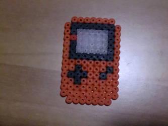 Mini orange game boy by Ziano87