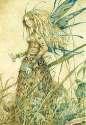Absinthe Faerie by bridge-troll