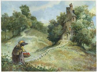 Raven Witch by bridge-troll