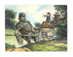 Nana and Goliath by bridge-troll