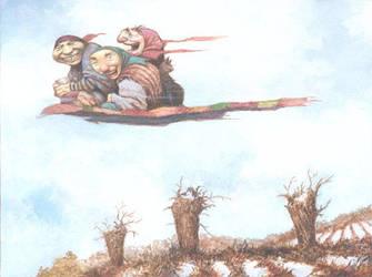 The Magic Duvet by bridge-troll