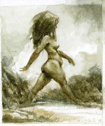 Walking-nymph by bridge-troll