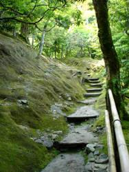 Ginkaku-ji Landscape by Keltrik