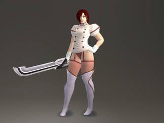 Thunder-Thighs the Nurse? by lucario515