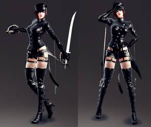New Character - Akane Mizuryu by lucario515