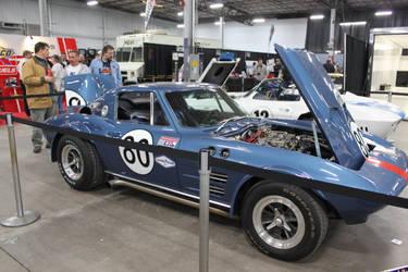Blue Corvette. by Maeve09