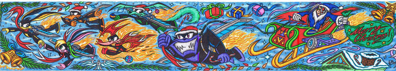 Loonatics Unleashed - Merry Christmas 2012! by AceOfSpeed94