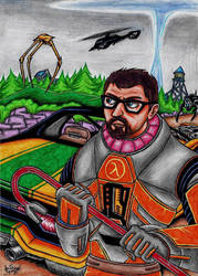 Half-Life 2: Episode Two FanART by AceOfSpeed94
