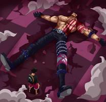 Katakuri falls (One Piece CH. 896) by FanaliShiro