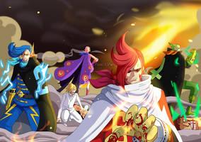 Germa's 66 return! (One Piece CH. 897) by FanaliShiro