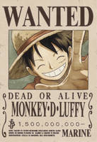 Luffy - New Reward by FanaliShiro