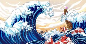 Wave of Wano (One Piece CH. 910) by FanaliShiro