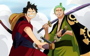 Luffy and Zoro (One Piece CH. 912) by FanaliShiro
