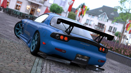 Gran Turismo 5 - Mazda MX-7 by Plageman18