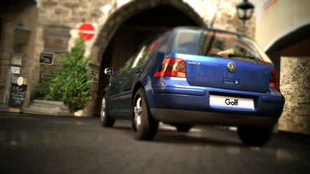 Gran Turismo 5 - Golf 4 by Plageman18