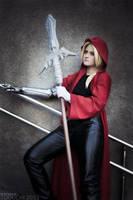 Elric's spear by Baxerenok