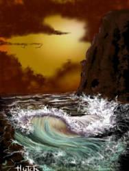 seascape. by josephhutchison