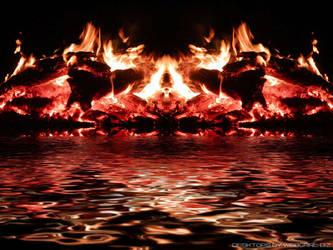 Fire Demon by webgrrl