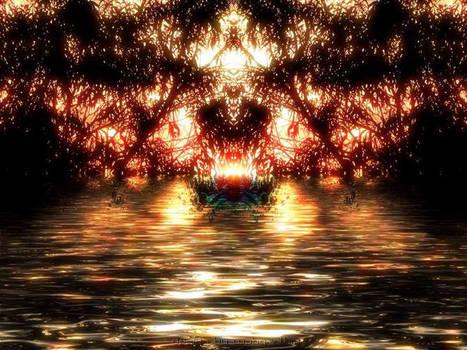 Sunset Fire by webgrrl