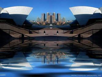 Sydney Twin Opera by webgrrl