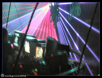 BLISS : VJs and Lasers by webgrrl